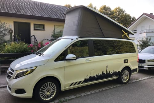 Wohnmobil mieten in Stuttgart von privat | Mercedes Weißer-Blitz