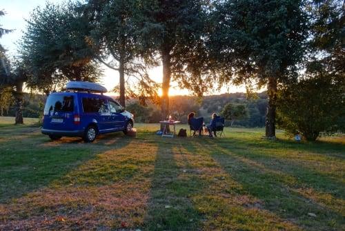 Wohnmobil mieten in Mannheim von privat | VW Caddy Camper