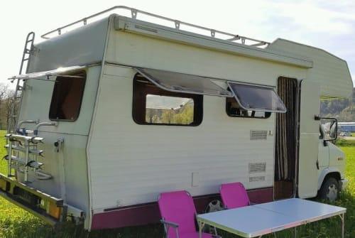 Wohnmobil mieten in Leutershausen von privat | Fiat Oldtimer Ernst