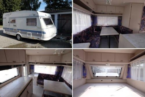 Wohnmobil mieten in Weißenhorn von privat | Hobby 430 SF Hobby 430 hell