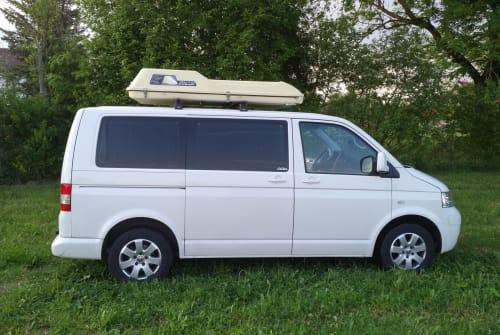 Wohnmobil mieten in Landsberg am Lech von privat | Volkswagen White Ride