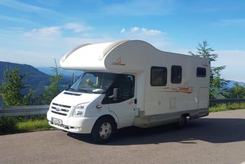 Wohnmobil mieten in Weilheim an der Teck von privat | Ford Transit Old Lady