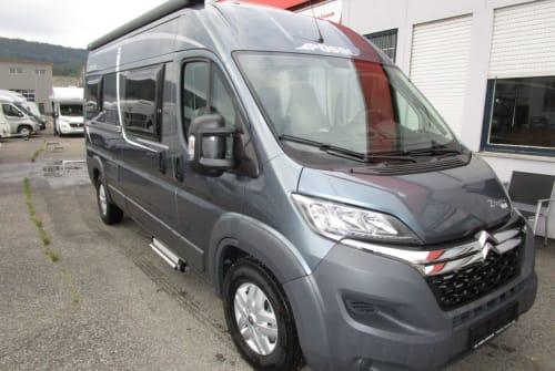 Wohnmobil mieten in Wiernsheim von privat   Pössl  Pössl 2 Win Plus Elegance