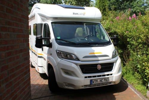 Wohnmobil mieten in Friedeburg von privat   Fiat Hanse-Camper