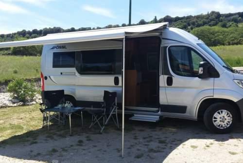 Wohnmobil mieten in Bulzi von privat   Pössl  La Vespa