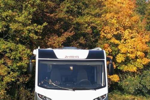 Wohnmobil mieten in Hebertsfelden von privat | Dethleffs  Sunlounger