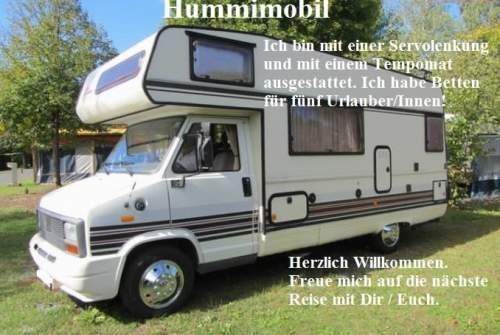 Wohnmobil mieten in Gössendorf von privat | Bürstner   Hummimobil