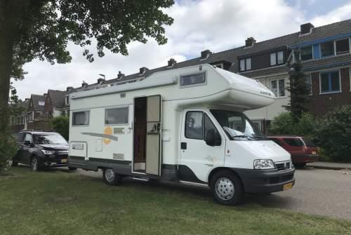 Wohnmobil mieten in Haarlem von privat | Fiat Ducato Zonny