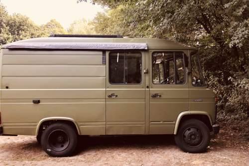 Wohnmobil mieten in Aalsmeer von privat   Mercedes 508D Olive