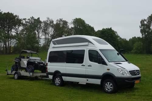 Wohnmobil mieten in Wapenveld von privat   Mercedes  Sprinter
