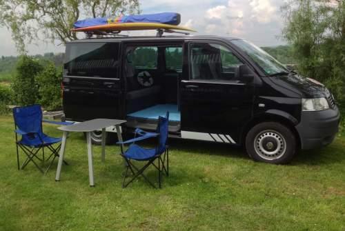 Wohnmobil mieten in Hennef von privat   VW Blackbully