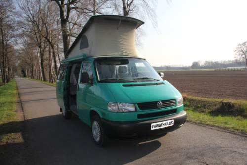 Wohnmobil mieten in Halle von privat   VW Grüne Madame