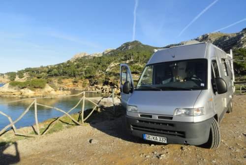 Wohnmobil mieten in Palma de Mallorca von privat   Bavaria Camp Camper Mallorca