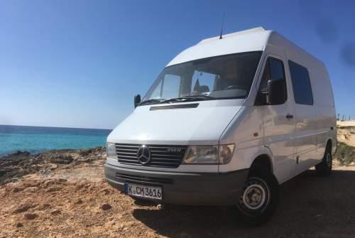 Wohnmobil mieten in Palma von privat   Mercedes Benz SUPERTRAMP