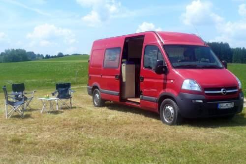 Wohnmobil mieten in Ortenburg von privat | Opel MovanoCamper