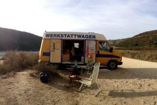 Wohnmobil mieten in Aljezur von privat | Fiat  Werkstattwagen aka WERKE
