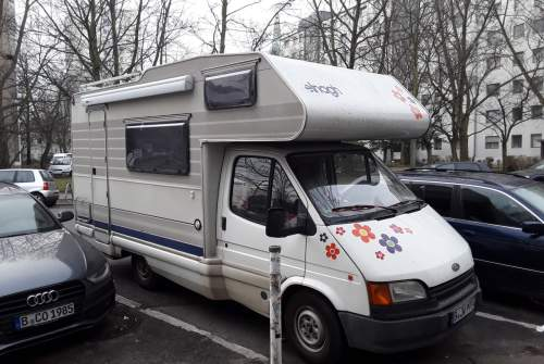 Wohnmobil mieten in Berlin von privat   Ford GARUDA II
