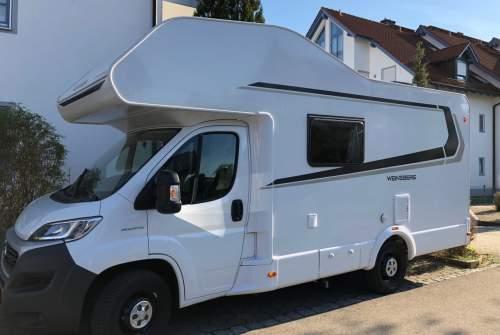 Wohnmobil mieten in Ottobeuren von privat   Weinsberg Roadrunner