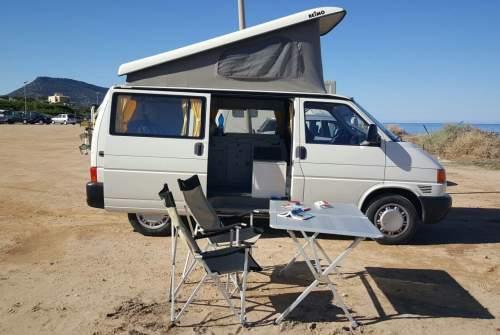 Wohnmobil mieten in Chiaramonti von privat   VW Sardinenbüchse